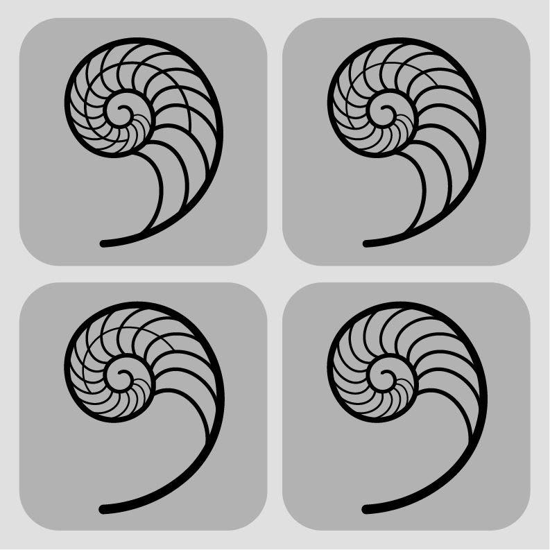 Fibonacci Spiral Vector at GetDrawings   Free download