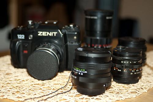 M42 Body & Lens