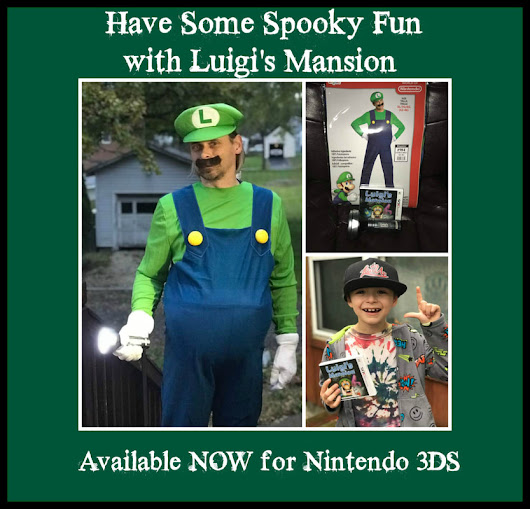 Have Some Spooky Fun with Luigi's Mansion 3DS #Partner #LuigisMansion #3DS