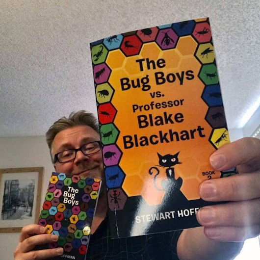 Author Interview: Stewart Hoffman – The Bug Boys series