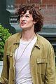 matt smith wears a curly wig on movie set 01