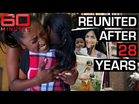Roshani reunites with mother 28 years after she was forced to give her u...