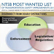 """DEADLY DISTRACTIONS"" RETURN AS ISSUE ON NTSB'S 2015 ""MOST WANTED LIST"" - John David Hart"