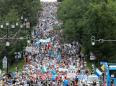 Tens of thousands protest against Putin in Russian far east