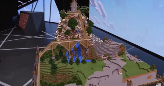 'Minecraft' is coming to Microsoft HoloLens