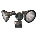 Heath Zenith Hz-5318-bz Motion Activated Dualbrite Security Flood Light, Bronze