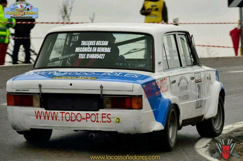 Todo-POI Patrocinador del Seat 124 2.0 de Manuel Moreno