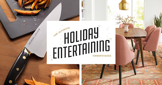 Ultimate Holiday Entertaining Sweepstakes