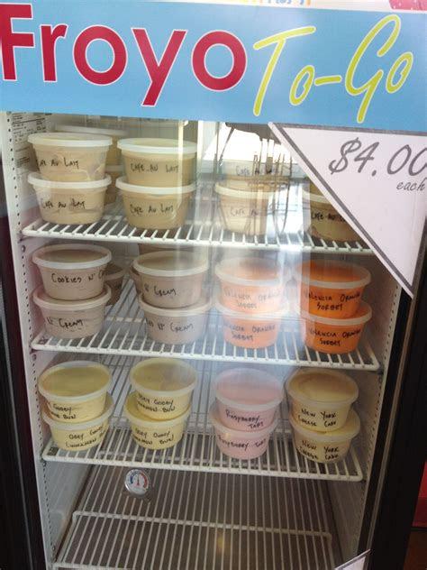 zinga frozen yogurt  arbors shopping center dallas