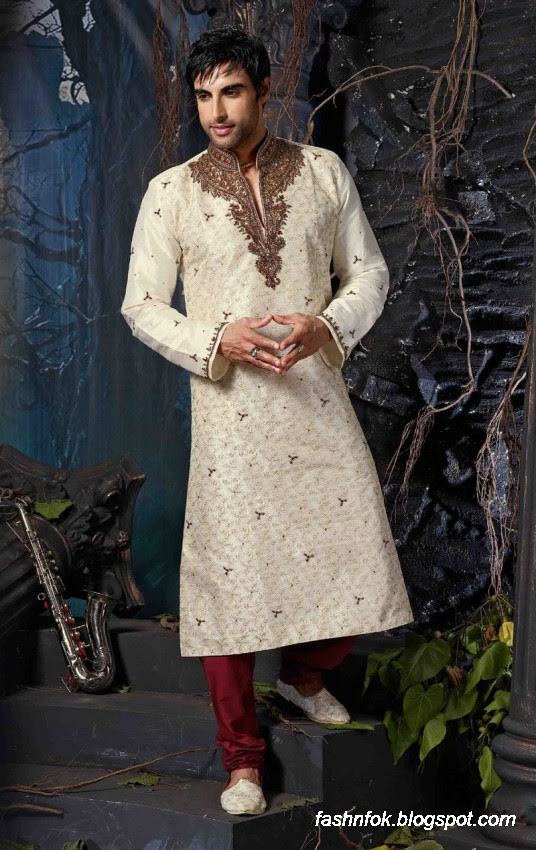 Kurta-Designs-Men-Male-New-Latest Silk-Kurta-Style-Design-6
