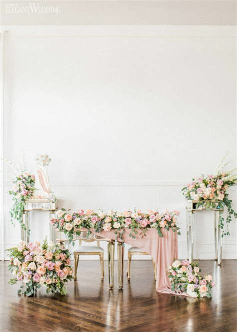 Romantic Garden Pastel Wedding Theme   ElegantWedding.ca