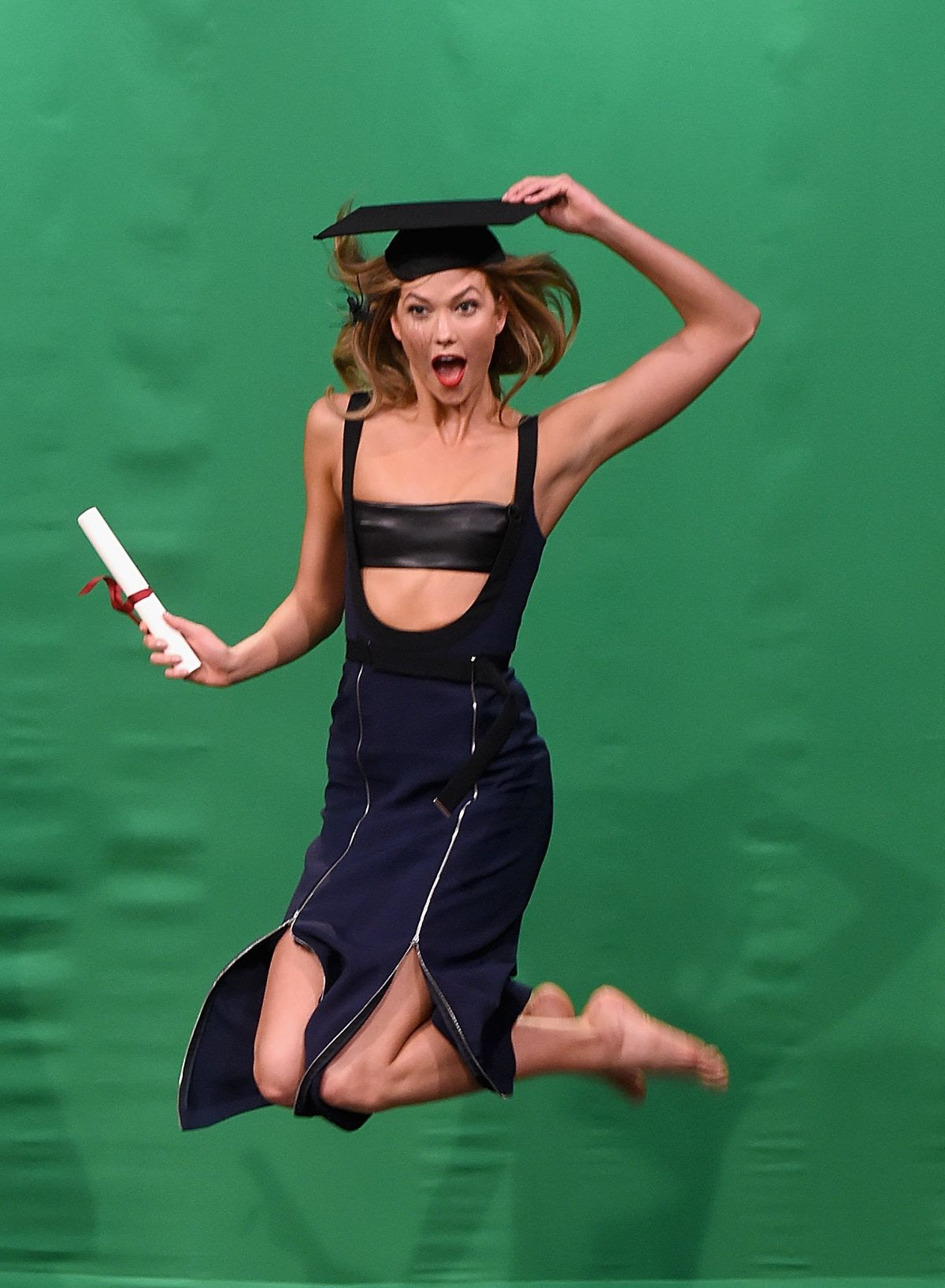 KARLIE KLOSS at Tonight Show Starring Jimmy Fallon in New York 05/25/2016