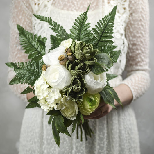 Alternative Bouquets for the Flower-Free Bride
