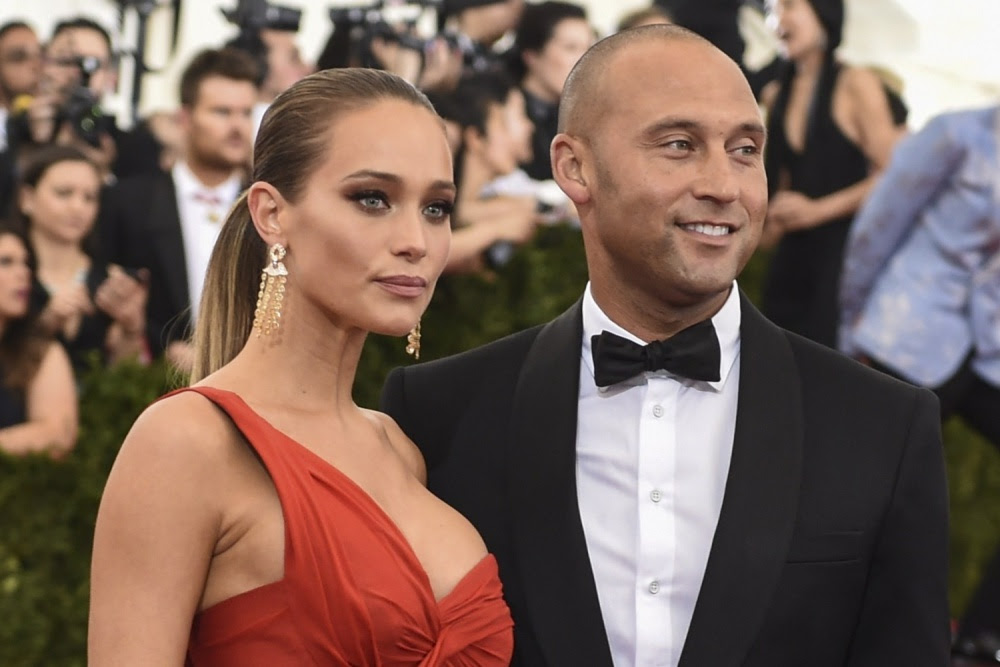 Hannah Davis and Husband Derek Jeter Expecting First Child