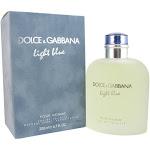 Dolce & Gabbana Men's Light Blue Pour Homme Eau de Toilette Spray - 6.7 fl oz bottle