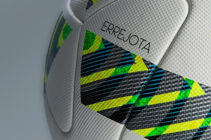 Bola Errejota leva o nome de palavra muito usada por cariocas nas brincadeiras (Foto: Divulgação)