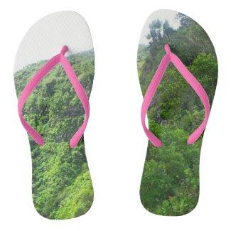 Nature Theme Flip Flop