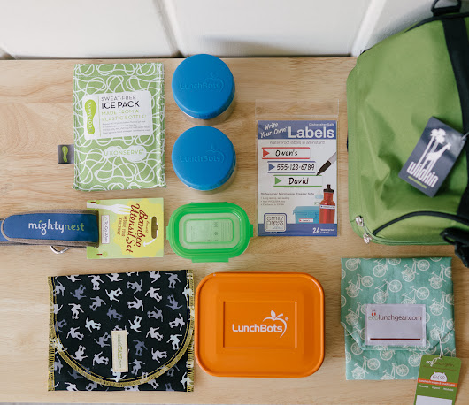 Pledge to Pack Lunch And Win $100+ Worth Of Gear From MightyNest! - The Happiest Home