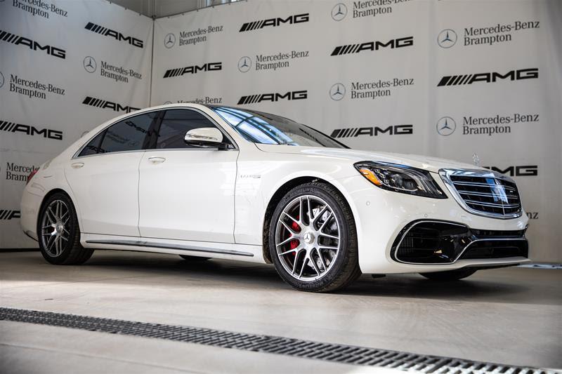 New 2020 Mercedes-Benz S-Class S63 AMG 4MATIC+ 4-Door ...