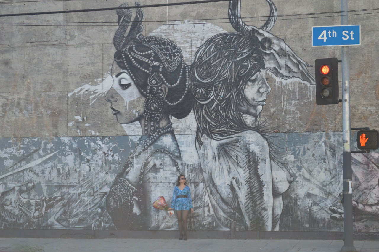 A STROLL AROUND LA'S ARTS DISTRICT