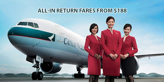 Cathay Pacific Singapore: Newest Promotions for 2017