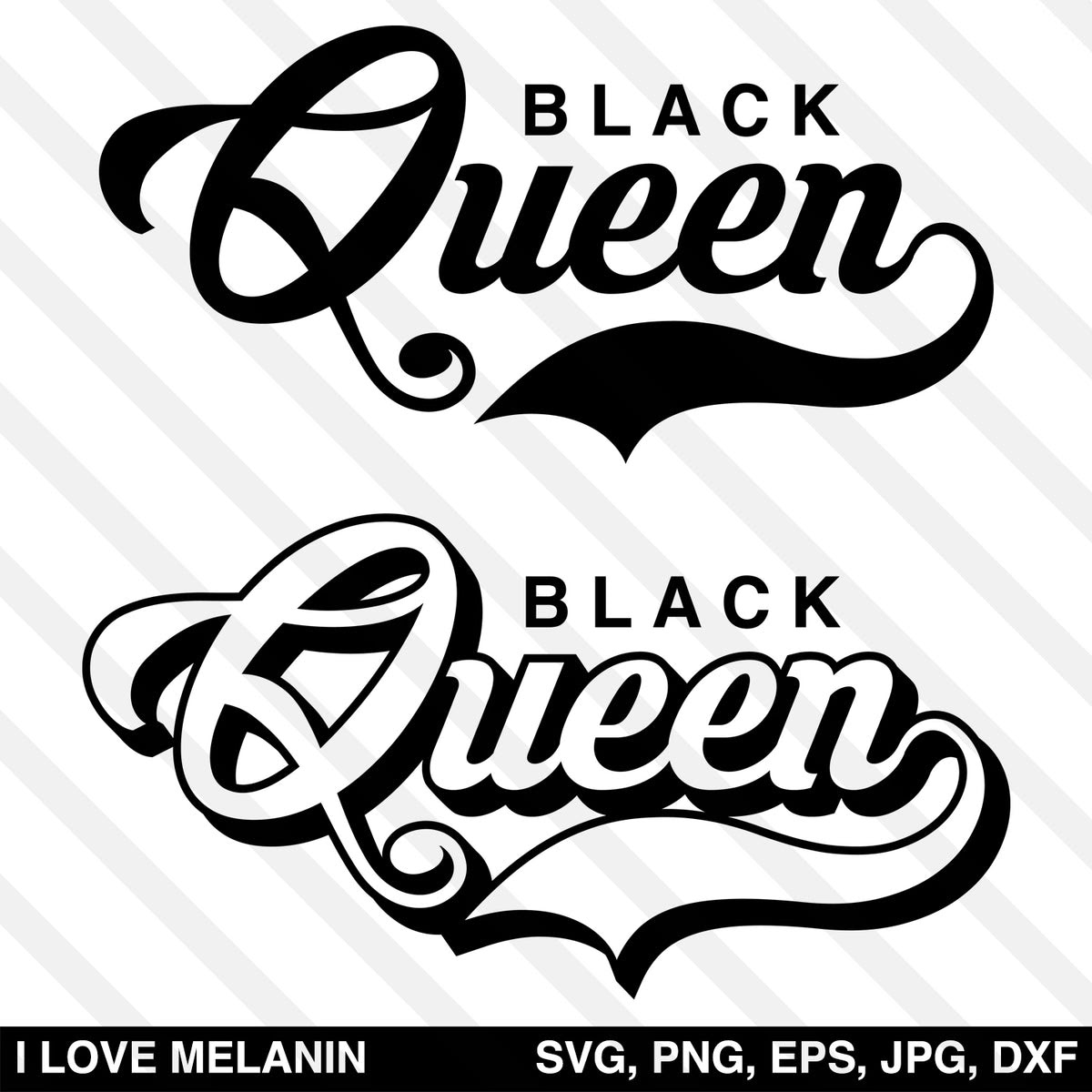 Download Black Queen SVG - I Love Melanin