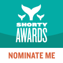 Nominate Fruitbatwalton for a social media award in the Shorty Awards!