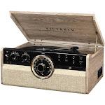 Victrola - Bluetooth Stereo Audio System - Farmhouse Oatmeal