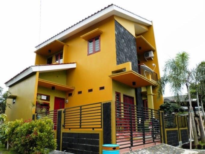 Warna  Cat  Rumah  Minimalis  yang  Tampak Elegan  Modern