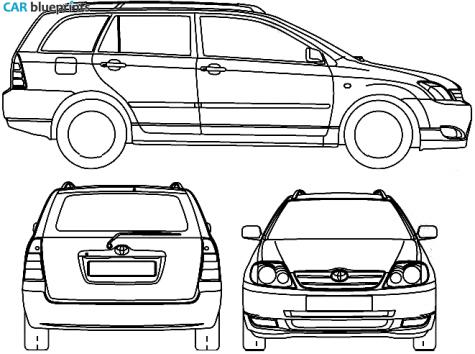 toyota corolla 2006 wagon ~ Trends Car