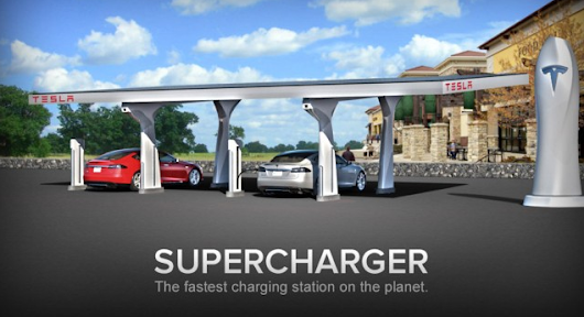 Tesla will double the stations in its Supercharger network by the end of the year -