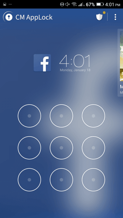 how to use clean master app guide screen applock