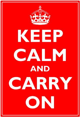 Visio Guy » Visio Keep Calm Template