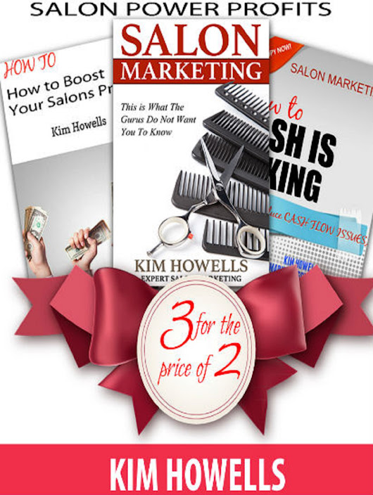 3 Salon Marketing Books for the Price of 2