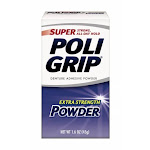 PoliGrip Super Denture Adhesive Powder, Extra Strength, 45ml