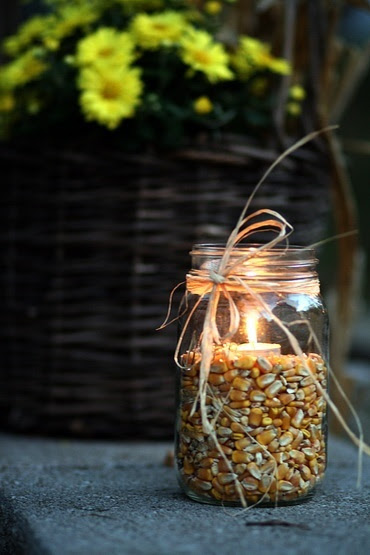Autumn Candles With a Twist The Home Stylist