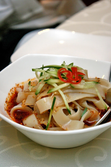 Handmade Shaanxi cold noodle