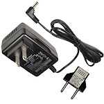 Hqrp Replacement AC Adapter / Charger for Canon Fs30, Fs300, FS31 Camcorder with USA Cord & Euro Plug Adapter (Wall Style)
