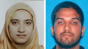 Los dos autores de la matanza de San Bernardino