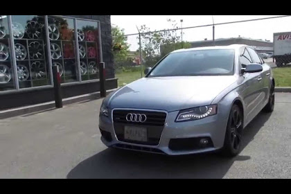 2011 Audi A4 Black Rims