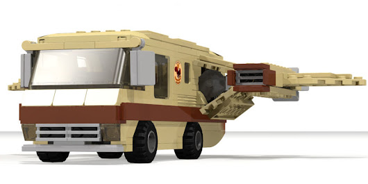 The Spaceballs Winnebago needs to be a real LEGO set