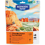 Backpacker's Pantry Thai Coconut Curry with Beef - 6.6 oz pouch