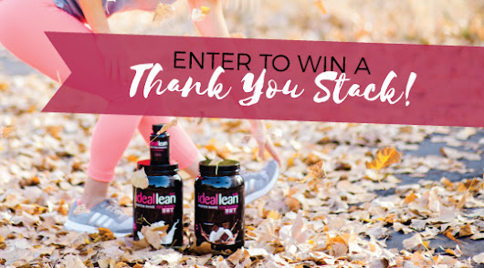 Enter To Win Two Tubs of IdealLean Protein and New Nighttime Probiotic!