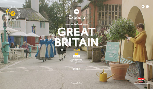 Expedia: VisitBritain - Awwwards SOTD