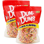 Dum Dums Peach-Mango flavor - 2-1 lb bags