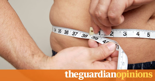 Men are putting on weight – and the diagnosis is grim | Neil Boom | Opinion | The Guardian