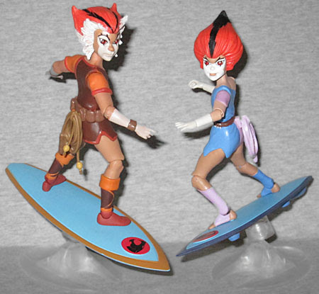 OAFE - Thundercats: Wilykit and Wilykat exclusive reviews