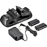 Insignia - Dual Controller Charger for Xbox One - Black