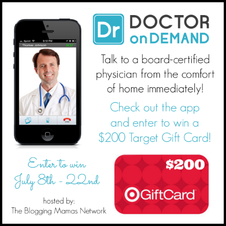 Doctor On Demand: Consult a Physician Without Leaving Home! + Giveaway - Game On Mom