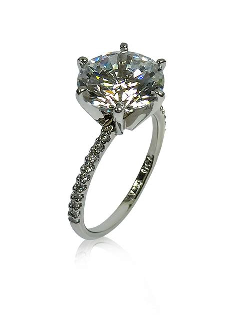 cubic zirconia rings engagement rings  cubic